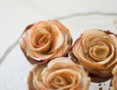 Apple pie that look like roses * recipe *