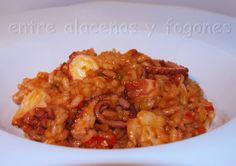 arroz cremoso con pulpo