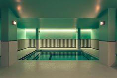 Milan based design duo DIMORESTUDIO have completed the elegant interior architecture of 'hotel saint-marc' in Paris. Paris Hotels, Hotel Paris, Hotel Romantique Paris, Indoor Swimming, Swimming Pools, Interior Architecture, Interior And Exterior, Conceptual Architecture, Interior Modern