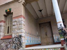 Casa Barbey, façana nord (la Garriga).