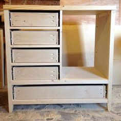 Install The Drawers