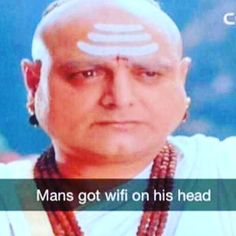 Am sure that he is very popular amongst his friends.  #wifi #funnypictures #funnydesipics #mademelaugh