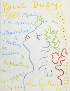 Jean Cocteau à propos de Raul Dufy