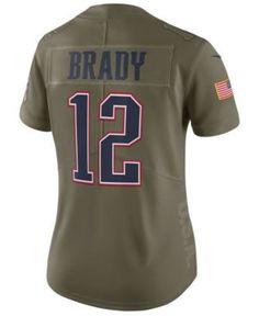Nike Women s Tom Brady New England Patriots Salute To Service Jersey Women  - Sports Fan Shop By Lids - Macy s a6b1de9ff