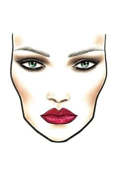 M·A·C Viva Glam Rihanna: Get the Look  available at #Nordstrom   Lipstick, not the scary face.