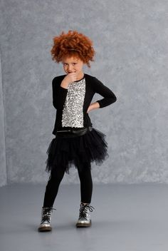 Kate Mack Girl's Little Rebel Netting Skirt, Black - Size 14 Little Diva, Rebel, Rock, Kids Fashion, Ballet Skirt, Shirts, Clothes, Amazon, Sequin Shirt