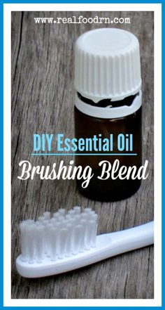 Essential Oil Brushing Blend