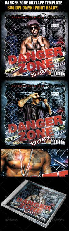 Danger Zone Mixtape Template - #CD & #DVD #Artwork #Print #Templates Download here: https://graphicriver.net/item/danger-zone-mixtape-template/943064?ref=alena994