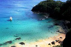 Patrimônio Mundial da Unesco, o arquipélago de Fernando de Noronha é um dos locais mais belos e encantadores do mundo Parks, Water, Outdoor, Rainy Season, National Parks, Places, Gripe Water, Outdoors, Outdoor Games