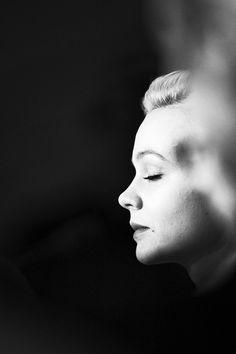 C. M. Carey Mulligan, Black N White, Famous Faces, Portrait Photography, Hollywood, Actors, Statue, Celebrities, People