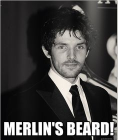 MERLIN'S BEARD... it's kinda underwhelming, it's supposed to be long and white and fluffy!! lol. hahahahahaha