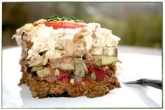 Vegan Moussaka: Try it. You may be surprised!