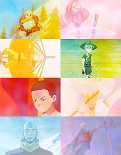 """""""I believe Aang can save the world."""""""