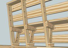 Custom Deck Bench and Railing - Kreg Owners' Community