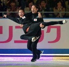Daisuke Takahashi & kanako Murakami WTT 2012 EX