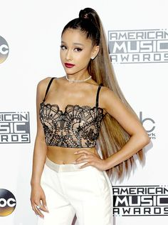 cab797c13e1 Ariana Grande Slams Male Fan Who  Objectified  Her