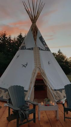 Teepee Tent Camping, Glamping, Diy Room Decor For Teens, Wall Tent, Survival Life Hacks, Weekend Vacations, Beautiful Places To Travel, World Of Color, Island Life