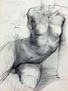 Figure studies by Steven Assael