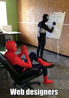 Web designers...HA!