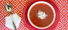 Smoky Tomato, Piquillo Pepper, & Carrot Gazpacho