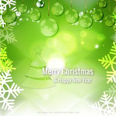 merry christmas and happy new year green background free christmas backgrounds christmas background vector