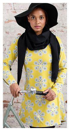 Ilmaiset ompelukaavat, naisten SARA trikootunika | NOSH.FI | NOSH verkkokauppa