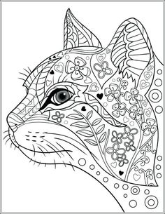 Dog And Cat Coloring Pages Printable Coloring Cats And Dogs Adult Colouring Cats Dogs Image Gallery Cat Coloring Book Pages Cats Coloring Cats And Dogs Cat Coloring Page Dog And Cat Coloring Pages Pri Dog Coloring Page, Printable Adult Coloring Pages, Animal Coloring Pages, Coloring Pages For Kids, Coloring Books, Coloring Sheets, Colouring For Adults, Kids Coloring, Abstract Coloring Pages