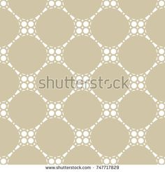 Vector geometric ornament. Seamless pattern in oriental style. Texture of mesh, ornamental grid, lattice. Beige and white abstract background. Subtle luxury repeat design for decoration, fabric, cloth