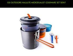 GSI Outdoors Halulite Microdualist Cookware Set 50147 #tech #gadgets #products #kit #technology #outdoor #plans #drone #camera #parts #shopping #cooking #ware #racing #fpv