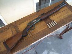 You're not bulletproof..., Harold Johnson Winchester 71 50 Alaskan A custom...
