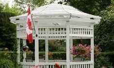 Hva er reglene for lysthus? Gazebo, Outdoor Structures, Kiosk, Pavilion, Cabana