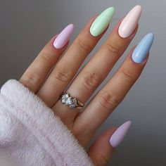 Acrylic Nails Coffin Short, Almond Acrylic Nails, Best Acrylic Nails, Almond Nails, Coffin Nails, Nail Manicure, Gel Nails, Acylic Nails, Minimalist Nails
