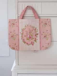 auction #52 ~ pink rococo & sweet tote - Pretty by Hand -