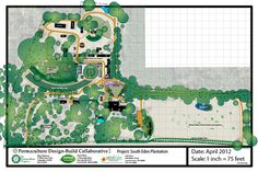 partial layout of an intentional community, South Eden Prairie,  permaculture design - build collaborative