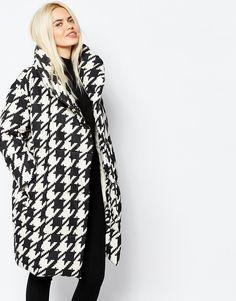 Изображение 1 из Стеганое oversize-пальто Monki