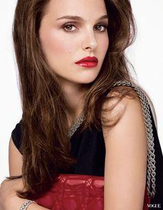 Natalie Portman for Dior's Rouge Brillant, 2015.