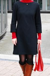 Burda Magazin - einfaches Jerseykleid für den Winter  Pattern Review