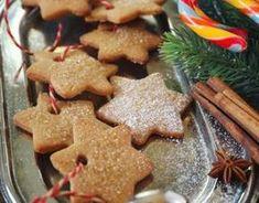 Christmas shortbread with cinnamon - Pâtisserie Noel Soft Gingerbread Cookie Recipe, Easy Christmas Cookie Recipes, Best Christmas Cookies, Easy Cookie Recipes, Christmas Treats, Noel Christmas, Ginger Bread Cookies Recipe, Chip Cookie Recipe, Chocolate Chip Cookies