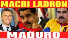 ULTIMAS NOTICIAS VENEZUELA  Nicolas Maduro llama ladron a Macri y le pide que renuncie https://youtu.be/bWnx09Of-R8