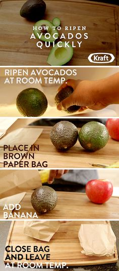 How To Ripen Avocados Quickly - Did you want to make your homemade guacamole recipe for Taco night, but your avocados are too ripe? Check out this tutorial for How To Ripen Avocados Quickly!