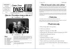 Svatební noviny - Svatební noviny - Obchod - Svatební tiskoviny Think, Health, Horoscope, Reading, Health Care, Salud