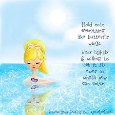Breathe, allow and let go - Love, Kimberley ♥  Big love to Princess Sassy Pants & Co.