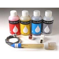 pH DEVELOPMENT KIT FOR ARDUINO, pH PROBE/ SOLUTIONS/ pH CIRCUIT
