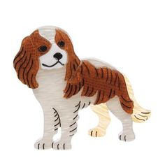 How dare you? If I wasn't so fond of you I would be greatly offended. King Charles Spaniel, Cavalier King Charles, Dog Jewelry, Resin Jewelry, Jewellery, Quirky Gifts, Retro Outfits, Dog Toys, Tigger
