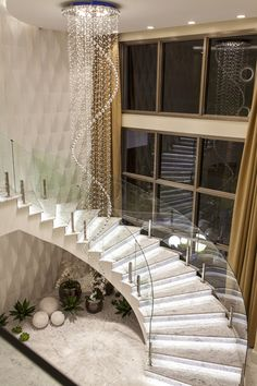 47 most popular modern house stairs design models 1 Home Stairs Design, Dream Home Design, Modern House Design, Mansion Interior, Dream House Interior, Interior Stairs, Interior Livingroom, Small Space Interior Design, Home Interior Design