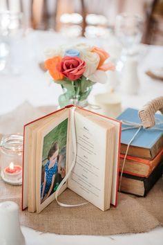 book menu // photo by Jonathan David Photography