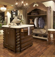 Who wouldn't want this as their walk in closet?