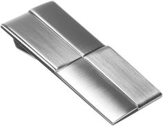 """Kenneth Cole REACTION Men's Money Clip,Silver,One Size Kenneth Cole REACTION. $21.90. Brass, Nickel. """"the essentials"""" brushed nickel money clip with layered squares. metal. Imported"""