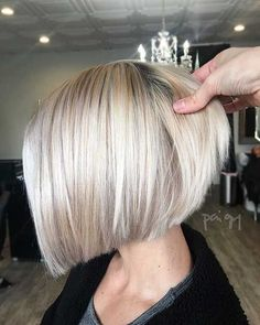 70 Winning Looks With Bob Haircuts For Fine Hair In 2020 Bob Pin On Hair Styles 50 Amazing Blunt Bob Hairstyles 2020 Hottest Mob Lob Hair 70 Winning Looks With Bob Haircut For Fine Hair, Bob Hairstyles For Fine Hair, Short Bob Haircuts, Hairstyles Haircuts, Classic Hairstyles, Fashion Hairstyles, Blonde Short Hairstyles, Edgy Bob Hairstyles, Grey Haircuts