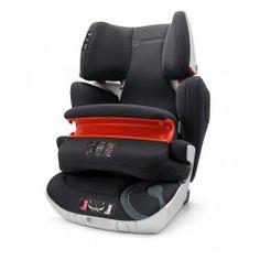 SILLA DE AUTO CONCORD TRANSFORMER XT PRO: grupo 1-2-3 con cojín frontal e Isofix. Puede reclinarse para que el niño vaya confortablemente.